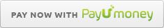 Pay with Credit card, Debit card, Mobile Wallet and Net Banking