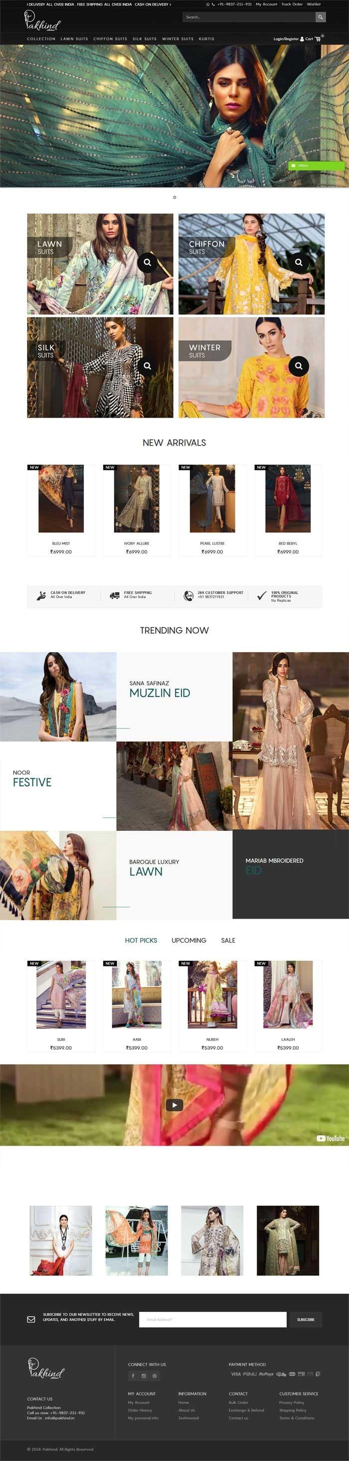 PakHind - Pakistani Suites Collection