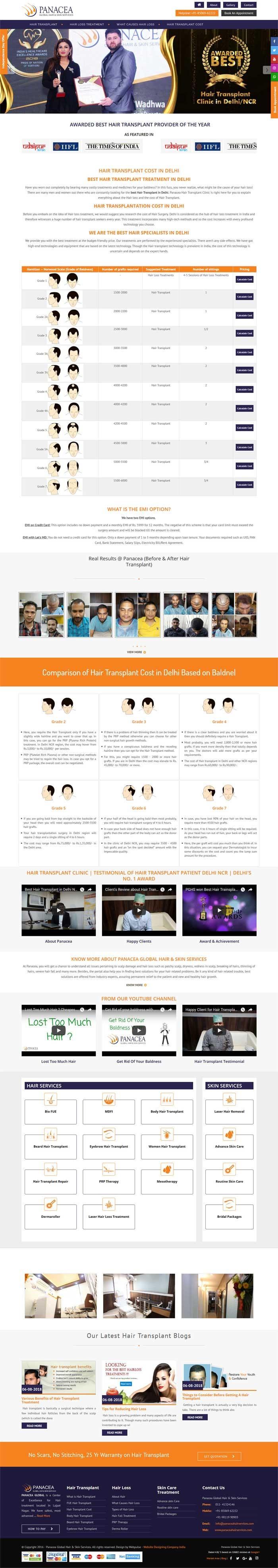 Panacea Global Hair Services