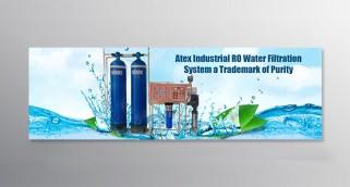 RO WATER FILTRATION BANNER DESIGNING
