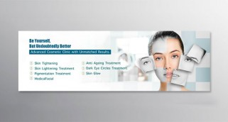 COSMETIC CLINIC BANNER DESIGN