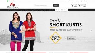 Online Kurtis India - FS Clothing Company