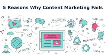 5 Reasons Why Content Marketing Fails