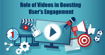 Role of Videos in Boosting User's Engagement