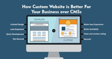 How Custom Website is Better For Your Business over CMSs