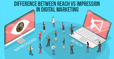 Difference between Reach vs Impression in Digital Marketing