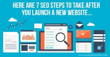 Here are 7 SEO Steps to take after you launch a New Website