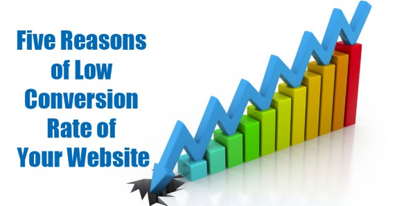 Five Reasons of Low Conversion Rate of Your Website