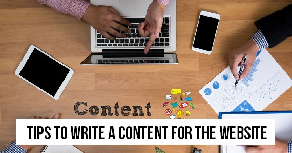 Tips to Write a Content for the Website