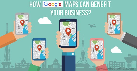 How Google Maps can Benefit your Business