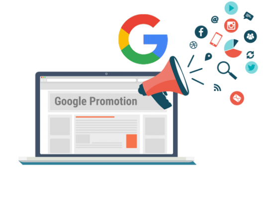 Google Promotion Services in Delhi