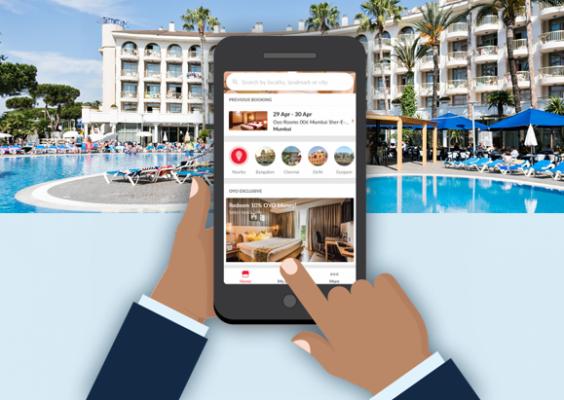 Hotel Booking App in Delhi