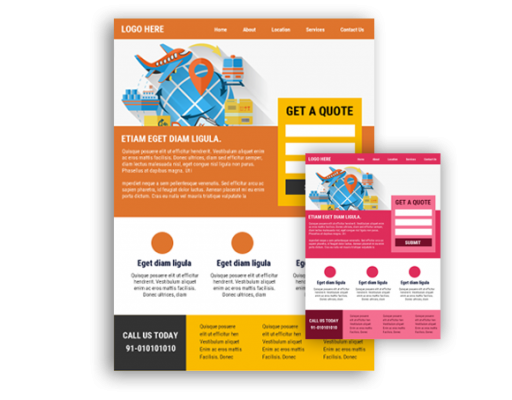 Landing Page Designing in Delhi