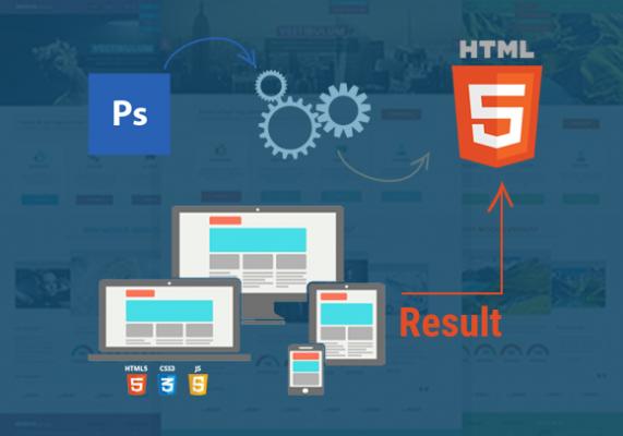 PSD to HTML Conversion in Delhi