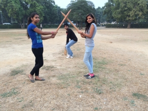 Playing Cricket with Webpulse Team
