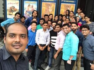 Webpulse Team Watching Movie (Toilet) @ Satyam Multiplex